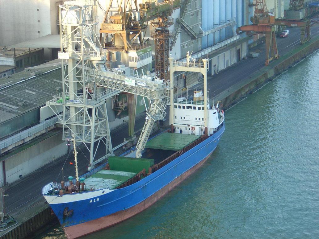 500tph Schiffbelader in Kiel-2a