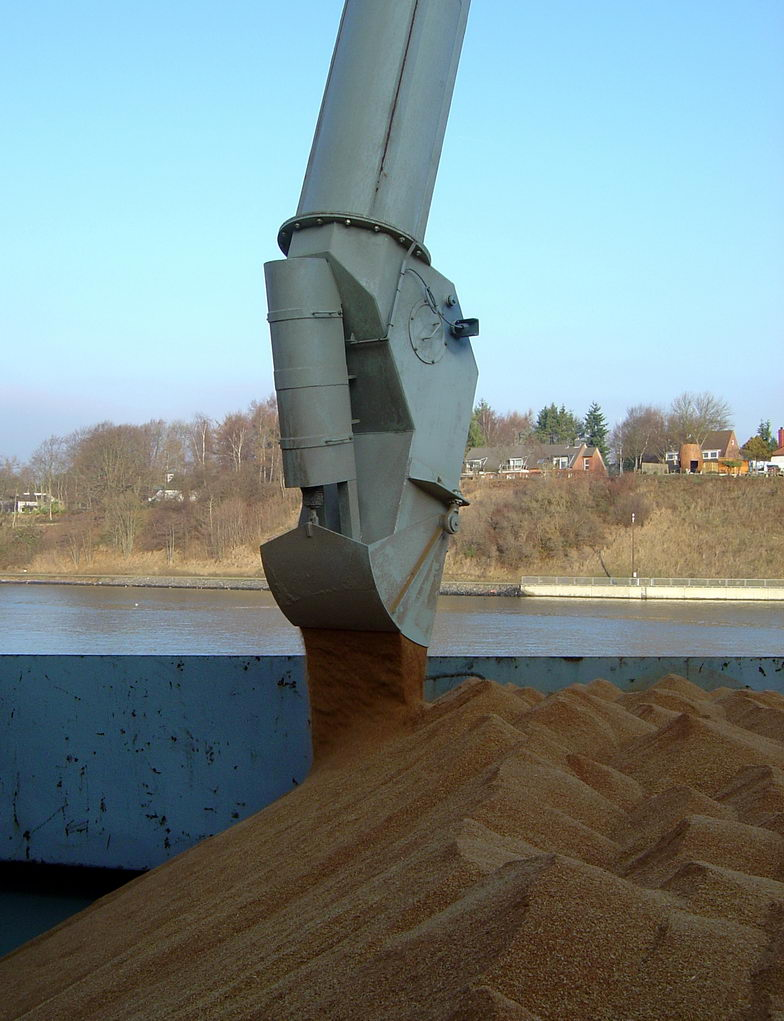 500tph Schiffsbeladerkopf-Staubarm